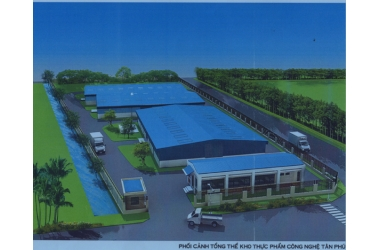 Công Trình: Nhà Kho Thực Phẩm Quận Tân Phú - InfoodCo